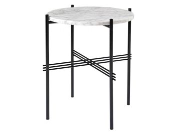 TS Side Table Small Round 40cm Dia with Black Base GUBI image
