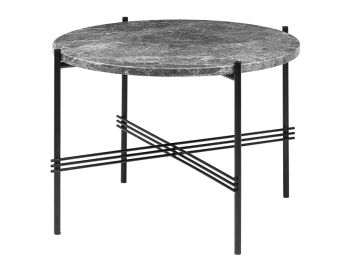TS Coffee Table Medium Round 55cm Dia with Black Base by GUBI image
