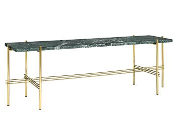 TS Console 1 Table 120cm with Brass Base GUBI image