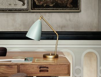 Grashoppa Table Lamp by Greta Grossman for GUBI image