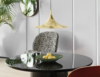 Semi Pendant Brass by Bonderup and Thorup for GUBI image