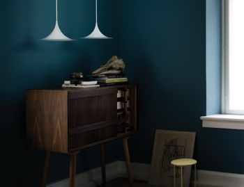 Semi Pendant White by Bonderup and Thorup for GUBI image