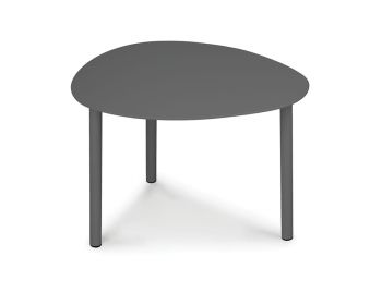 Cetara Outdoor Side Table Matt Charcoal by Bent Design image