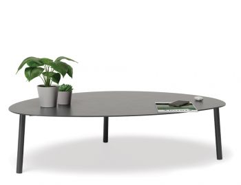 Cetara Outdoor Large Coffee Table Matt Charcoal by Bent Design image