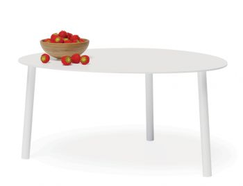 Cetara Outdoor Medium Coffee Table Matt White by Bent Design image