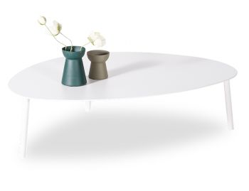 Cetara Outdoor Large Coffee Table Matt White by Bent Design image