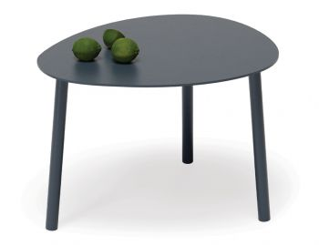 Cetara Outdoor Side Table Matt Midnight Blue by Bent Design image