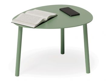 Cetara Outdoor Side Table Matt Sage Green by Bent Design image