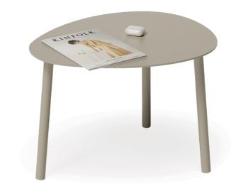 Cetara Outdoor Side Table Matt Champagne by Bent Design image