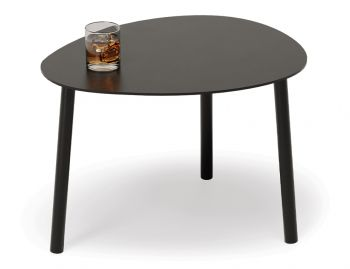 Cetara Outdoor Side Table Matt Black by Bent Design image