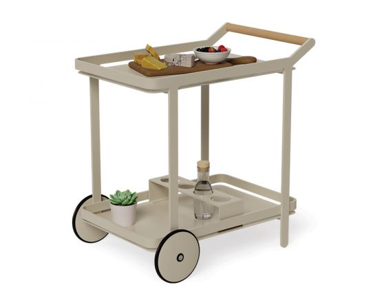 Champagne Outdoor Drinks Trolley