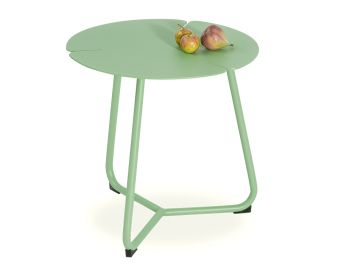 Tropea Outdoor Side Table Matt Green by Bent Design image
