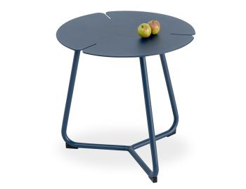 Tropea Outdoor Side Table Matt Midnight Blue by Bent Design image