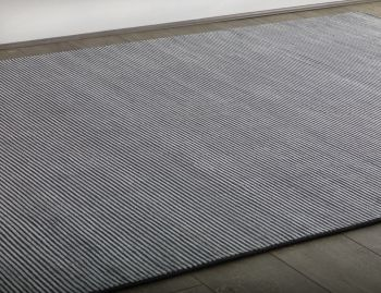 Liverpool Handloom Knotted Dark Grey Rug image