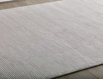 Liverpool Handloom Knotted Silver Rug image