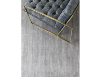 Glitz Silver Handloom Knotted Rug image