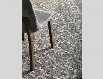 Jasmin Grey Pure Wool Handknotted Rug image