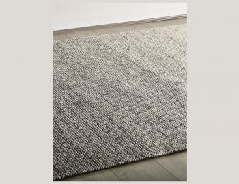 Braid Ombre Thunder Pure Wool Flatweave Rug image