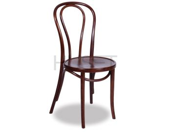 Vienna 18 Walnut Bentwood Thonet Chair by Fameg image