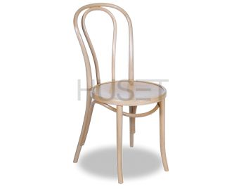 Vienna 18 Natural Bentwood Thonet Chair by Fameg image