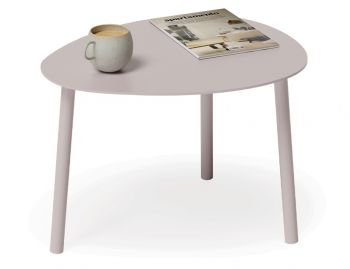 Cetara Outdoor Side Table Matt Pale Blush Pink by Bent Design image