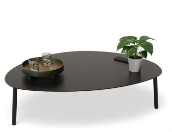 Cetara Outdoor Large Coffee Table Matt Black by Bent Design image