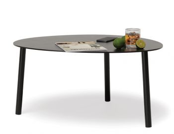 Cetara Outdoor Medium Coffee Table Matt Black by Bent Design image