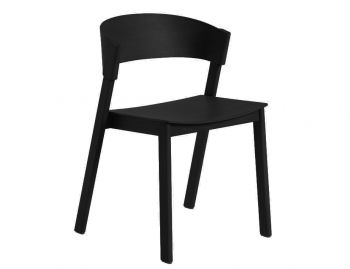 Cover Side Chair Black by Thomas Bentzen for Muuto image