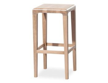 Natural Oak 65cm Rioja Kitchen Stool by Lounge Design Group for TON image