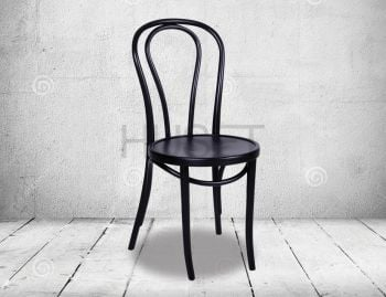 Black Vienna 18 Bentwood Chair by Micheal Thonet image