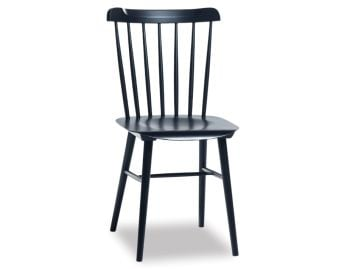 Ironica Black Stained Dining Chair by Tom Kelley for TON image