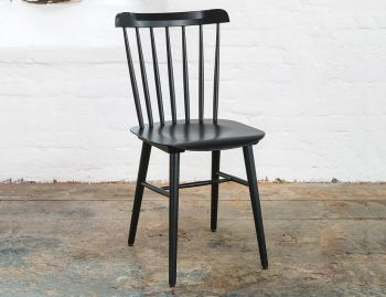 Black Ironica Dining Chair by Tom Kelley for TON image