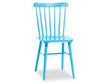 Custom Painted Ironica Dining Chair by Tom Kelley for TON (Min Order 6 pcs) image