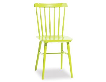Lime Green Ironica Dining Chair by Tom Kelley for TON image