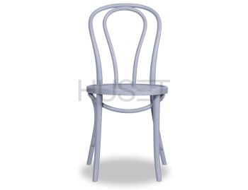 Light Grey Vienna 18 Bentwood Chair by Micheal Thonet image