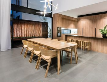 Natural Jutland A Grade Solid European Oak 280 x 110cm Dining Table by Mads Johansen for TON image