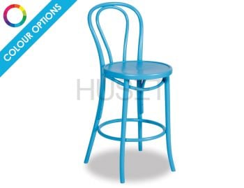 Vienna Custom Bentwood Bar Stool by Michael Thonet  image