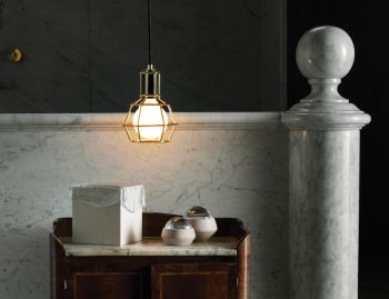 Silver Work Lamp by Form Us With Love for Design House Stockholm image