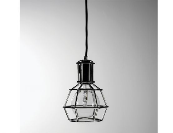 Silver Work Lamp