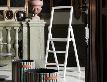White Step Stepladder by Karl Malmvall for Design House Stockholm image
